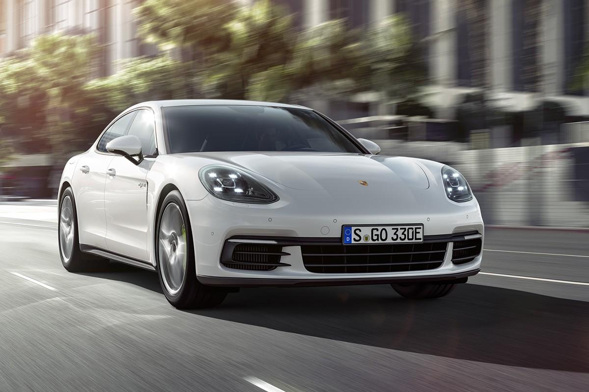 Porsche presentarà al saló de Paris el seu Panamera híbrid endollable