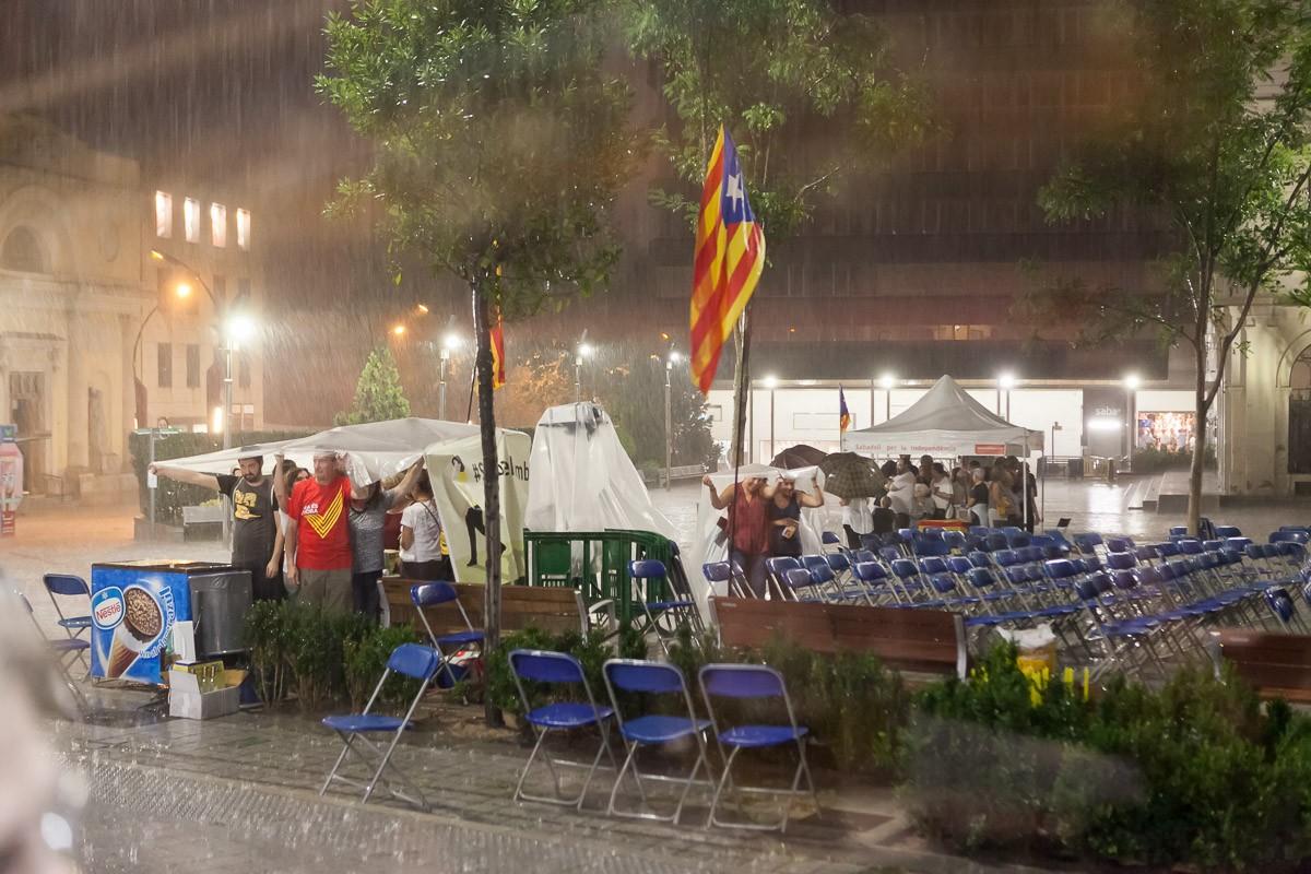 L'acte de Sabadell, passat per aigua