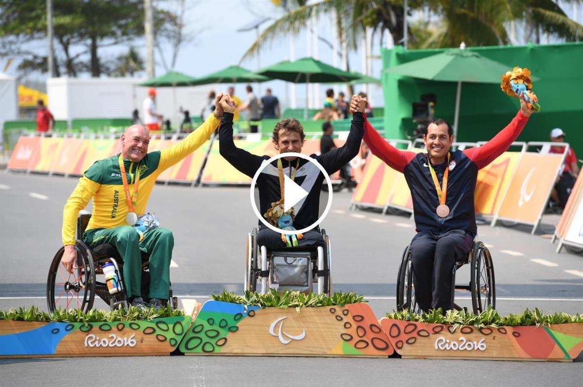 Alex Zanardi guanya l'or paralímpic el dia que fa 15 anys que va perdre les cames