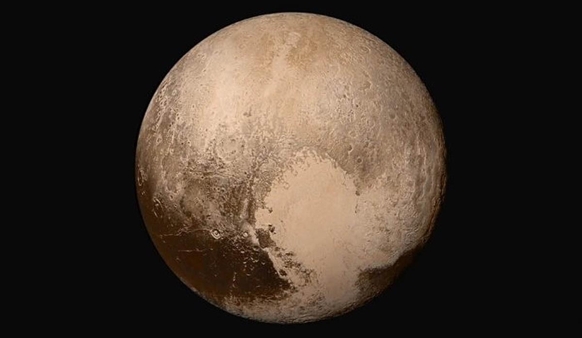 Imatge de la superfície de Plutó