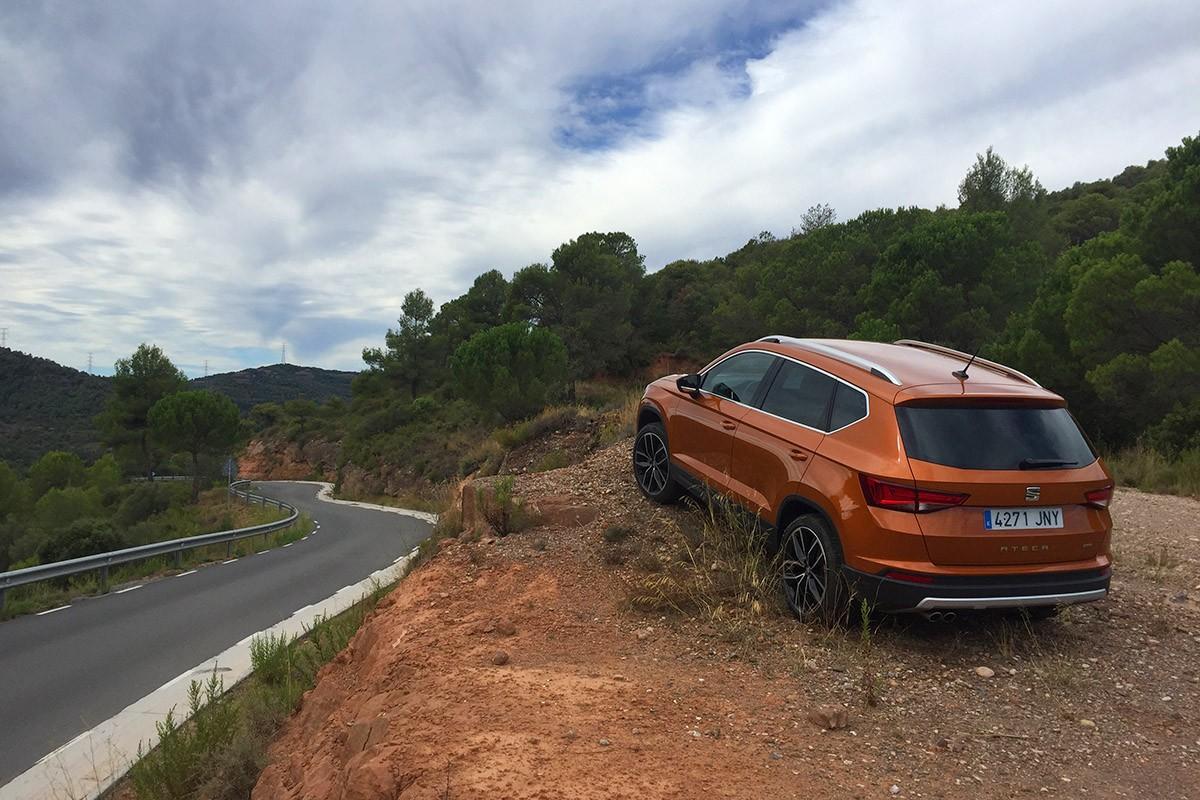 El SEAT Ateca. Cotxe de l'any 2017 a Catalunya