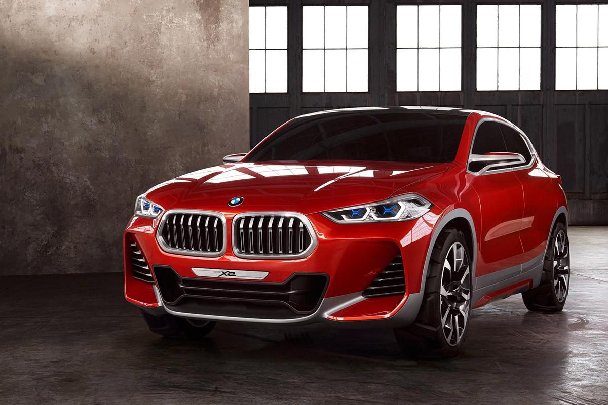 El BMW Concept X2 presentat al Saló de Paris