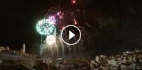 VÍDEO El castell de focs de Santa Tecla de Sitges a càmera lenta