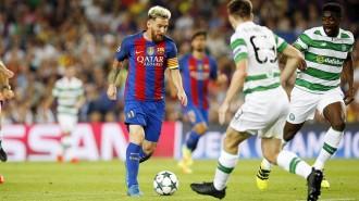 El Barça passa per sobre del Celtic en el debut a la Lliga de Campions (7-0)