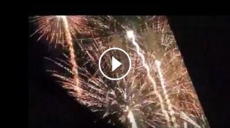 Diables i castell de focs a Sitges