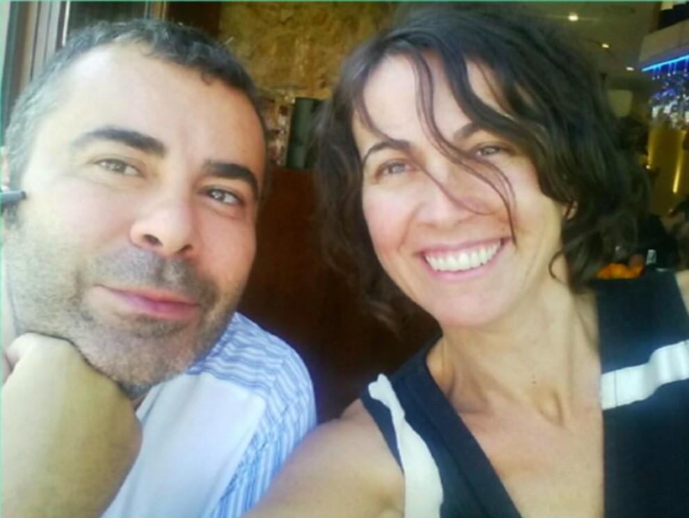 Lídia Heredia amb Jorge Javier Vázquez