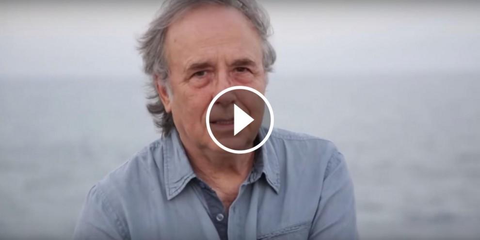 Joan Manuel Serrat, trist perquè el mar que estima s'ha convertit en una fosa comuna