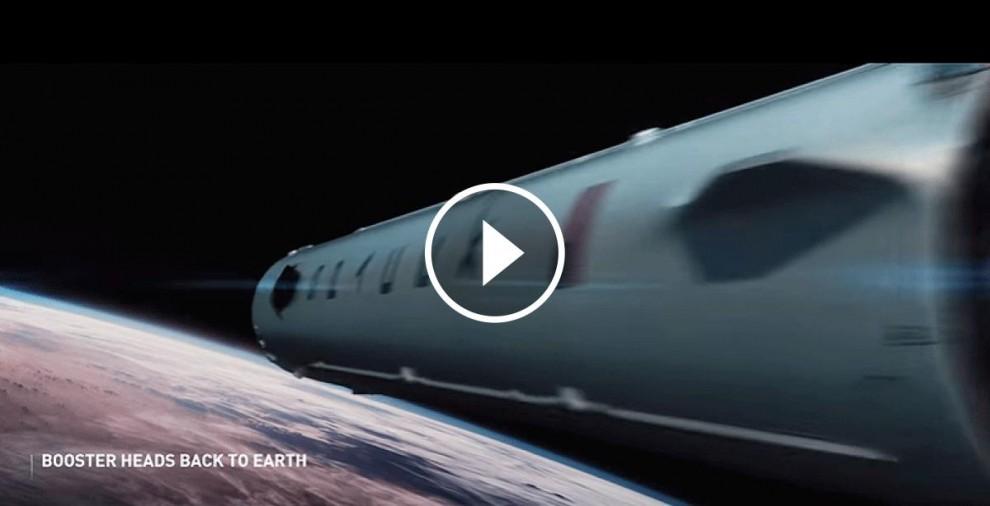 El coet presentat per SpaceX