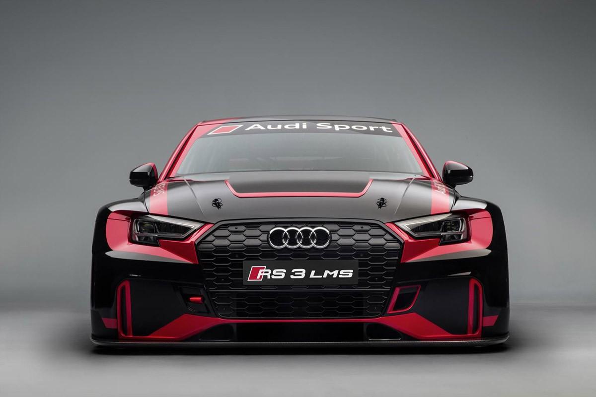 L'Audi RS 3 LMS serà el model que competirà a les TCR Racing Series