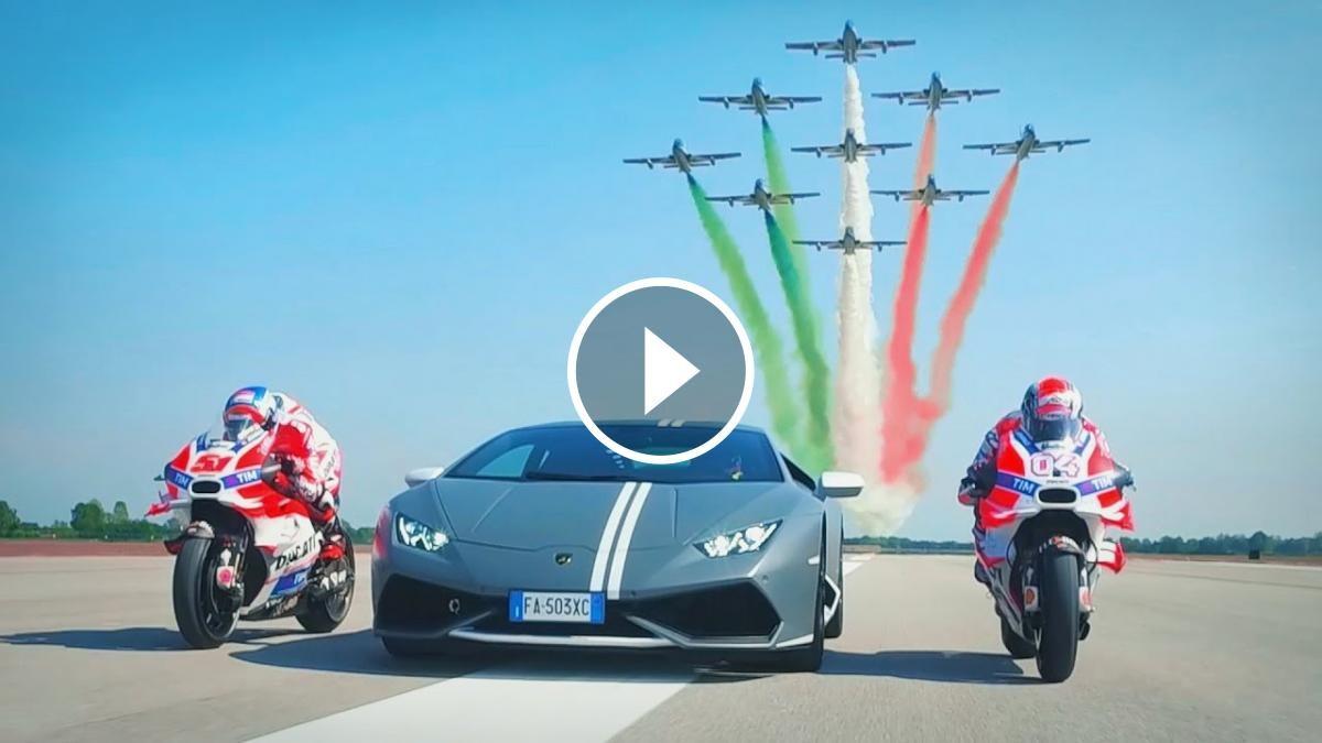 Tres icones italianes celebrant la seva passió per la velocitat