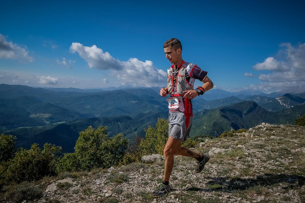 Adrià Matas, guanyador del 4t Trail Terra de Comtes i Abats