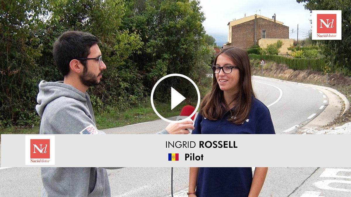 Entrevistem a Ingrid Rossell