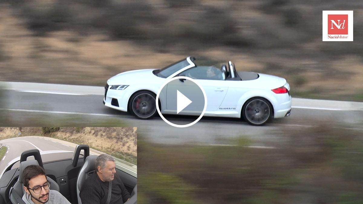Prova Audi TTS Roadster a la pujada del Suro