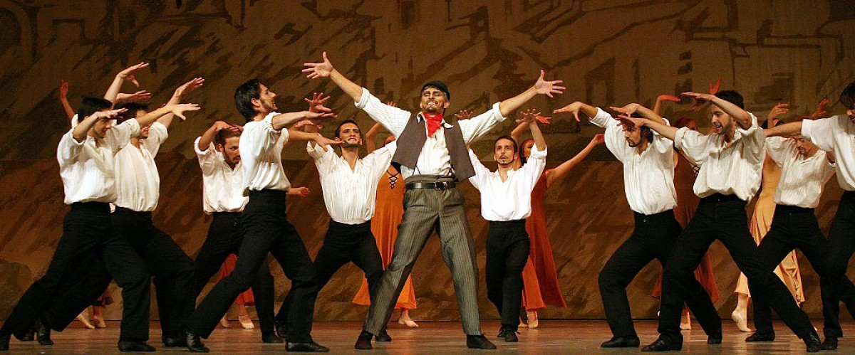 Igor Yebra protagonitza «Zorba, el grec» amb el Ballet Nacional de Sofia