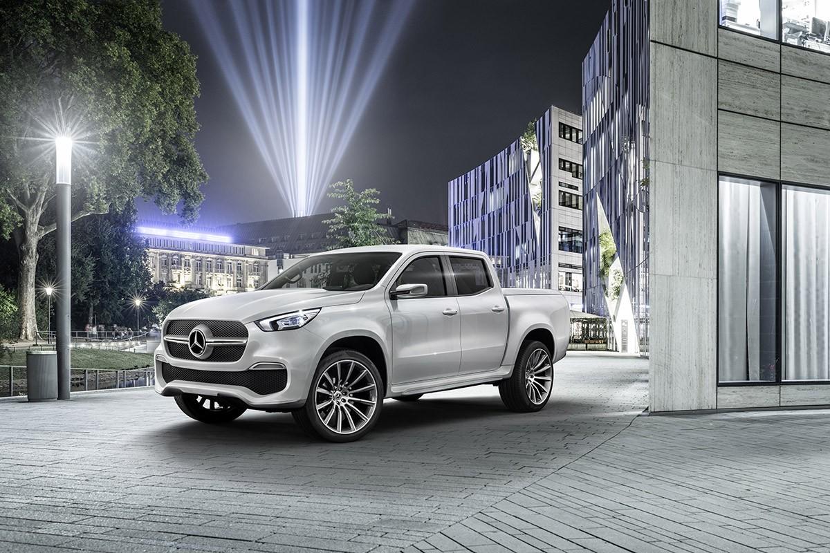 Així serà el futur Pick-up de Mercedes, el Classe X