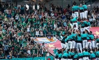 Els Castellers de Vilafranca guanyen un Concurs emocionant fins l'últim segon