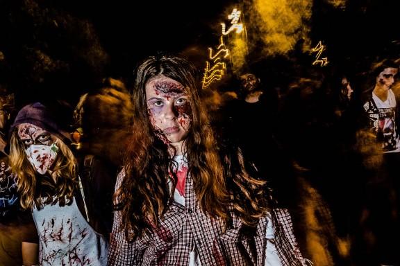 Zombie Walk de Sant Joan les Fonts