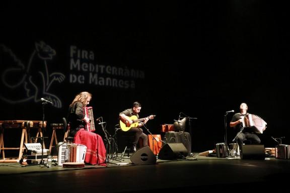 Els acordions de Kepa Junkera i Chango Spasiuk es fusionen en un espectacle únic
