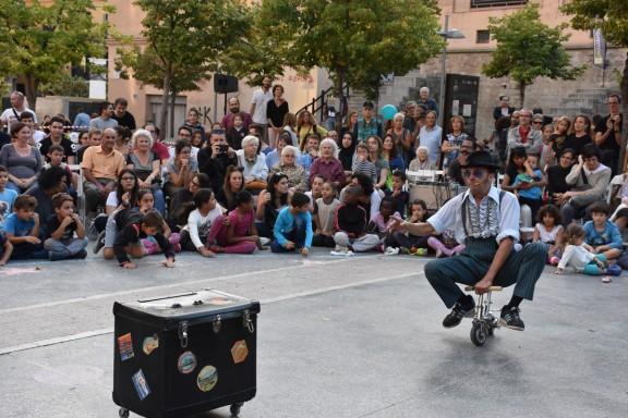 L'espectacle de carrer pren la Fira Mediterrània