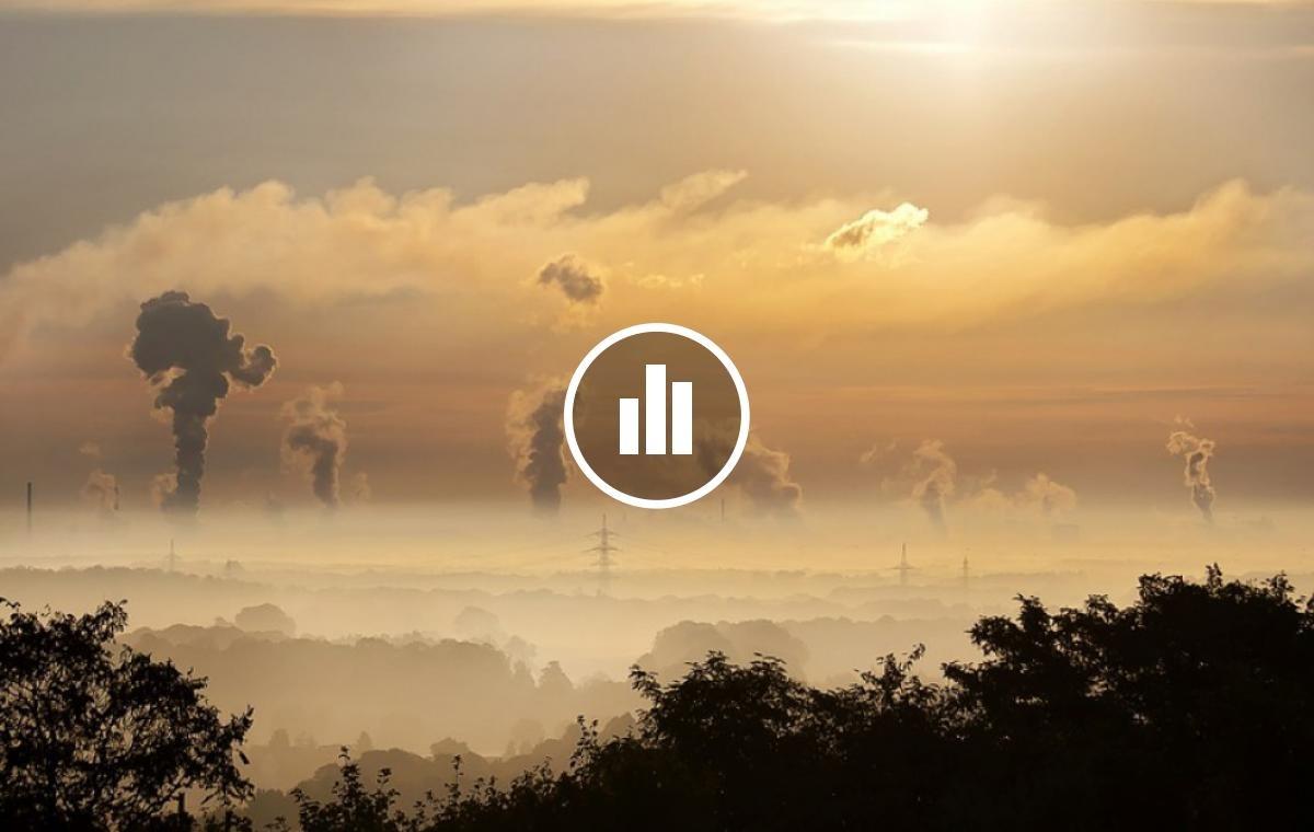 Imatge sobre la pol·lució a l'aire.