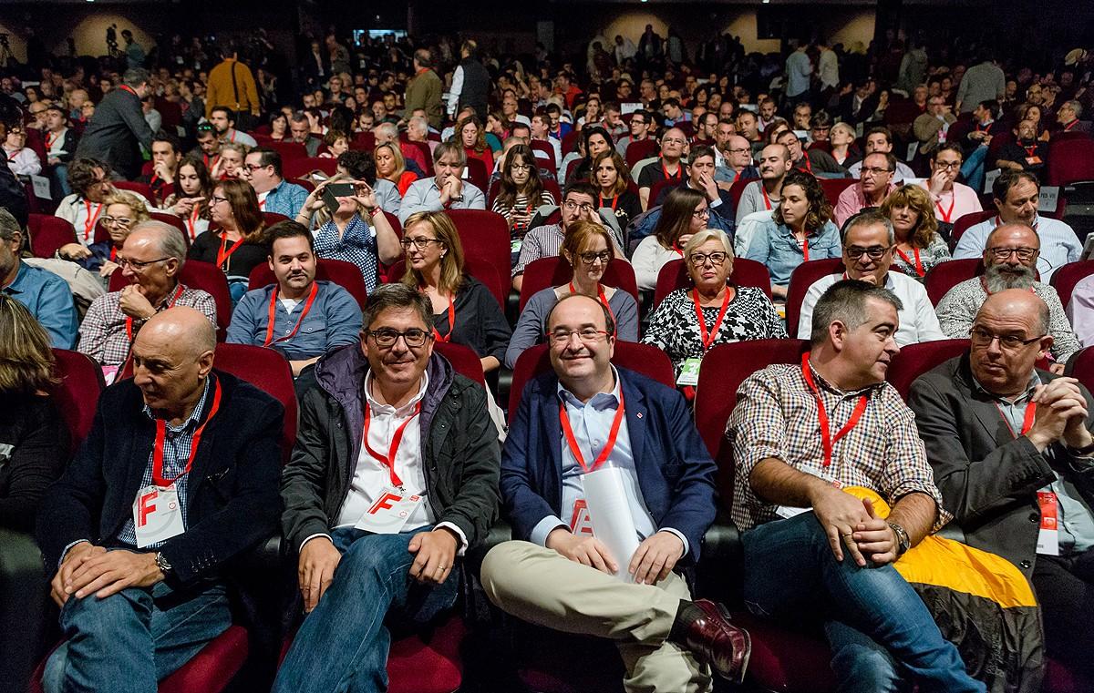 Miquel Iceta, al congrés del PSC del 2016
