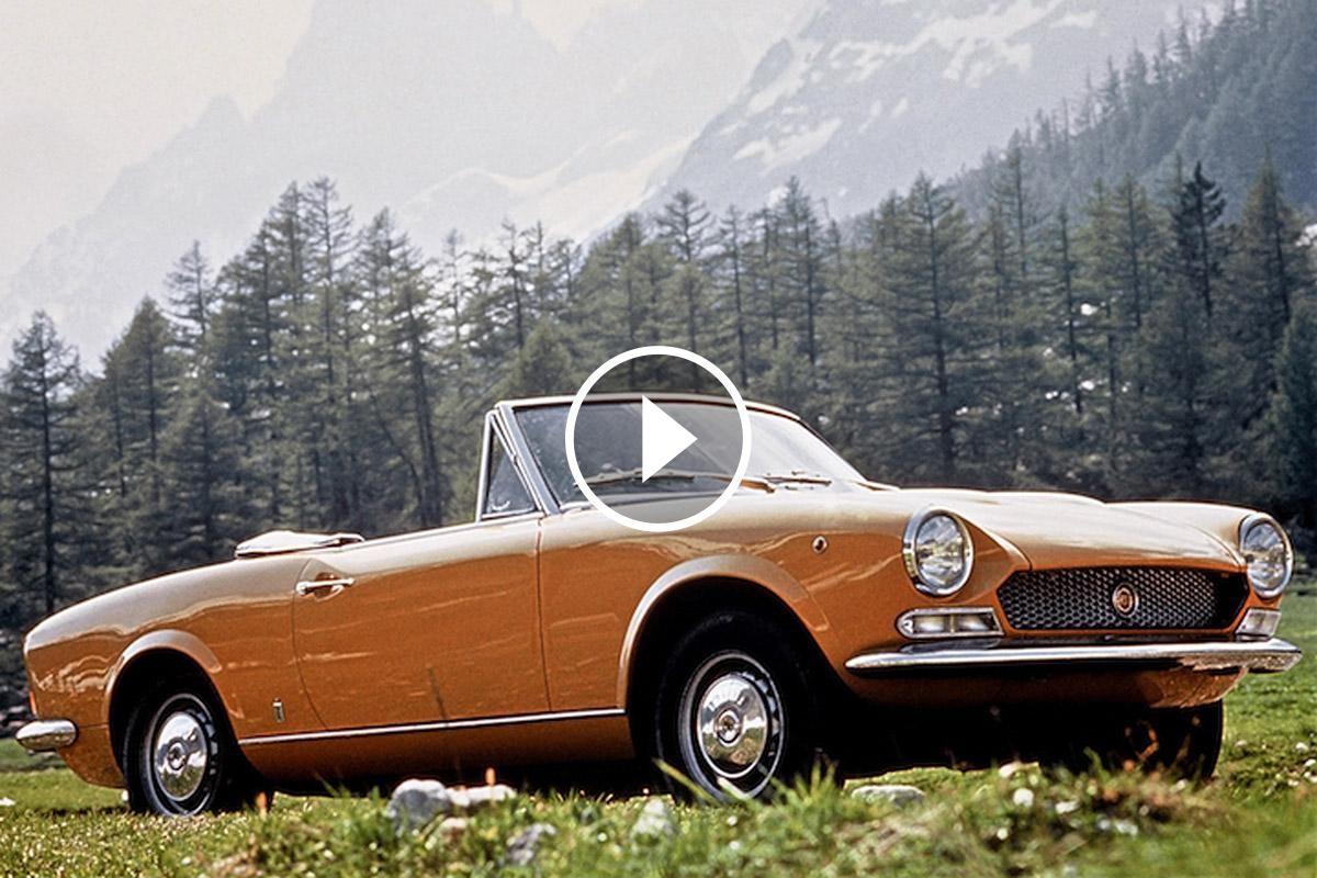 Al Saló de Torí de 1966 Fiat presentava el seu emblemàtic descapotable