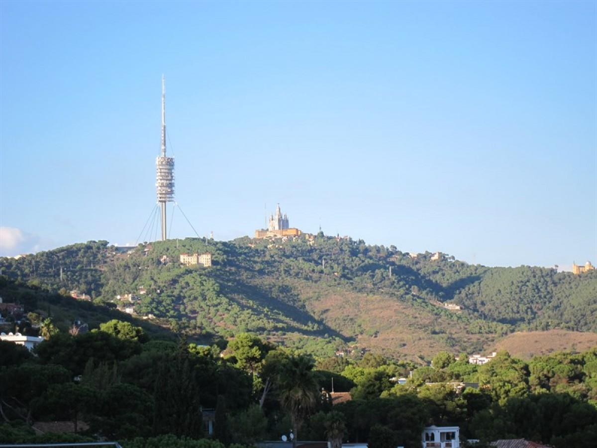 Imatge de la Serra de Collserola