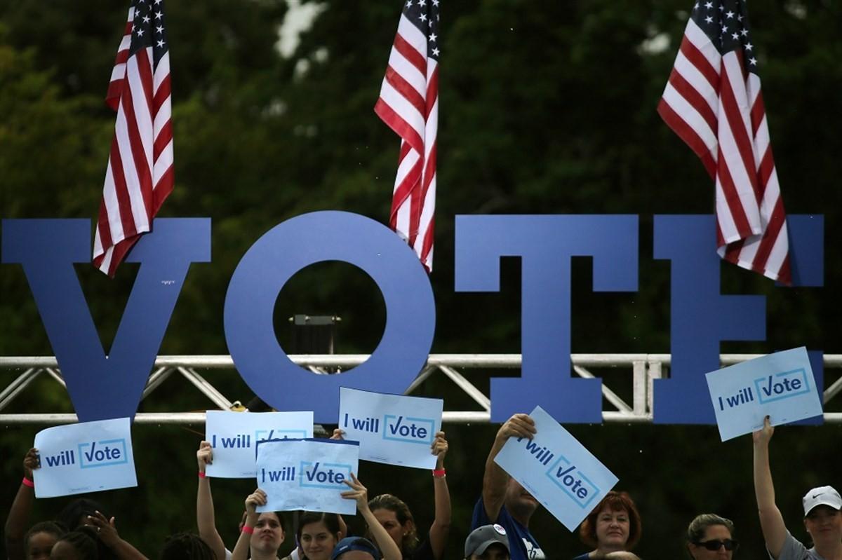 Acte electoral als Estats Units