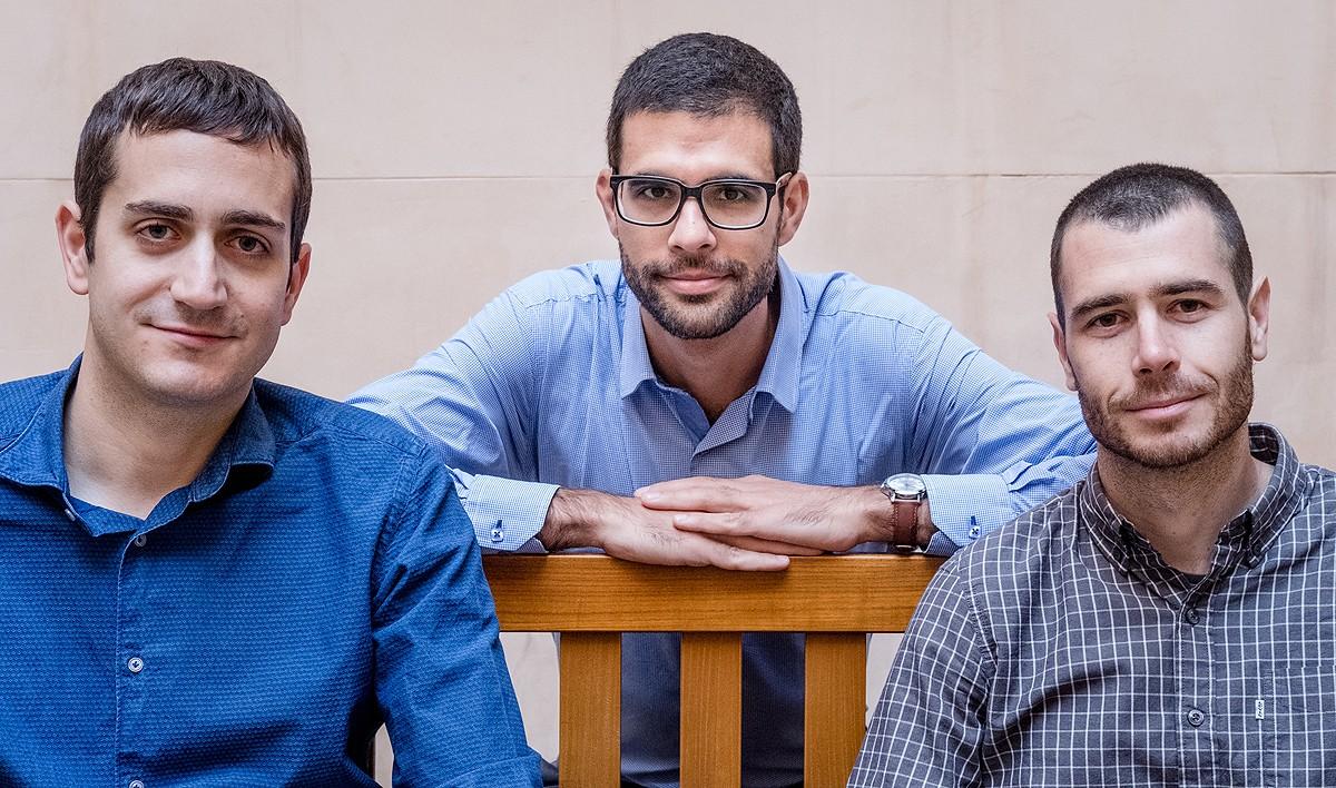 Toni Rodon, Marc Sanjaume i Marc Guinjoan