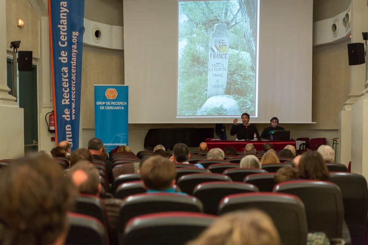 Vista general de la sala de convencions del Museu Cerdà en la primera edició de les jornades