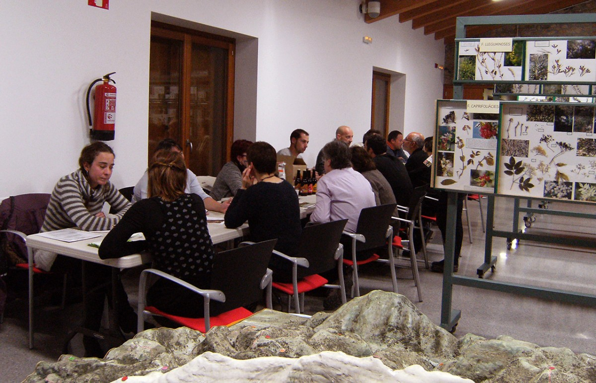 Productors, artesans i establiments de restauració, a la trobada que s'ha fet a Bellver de Cerdanya