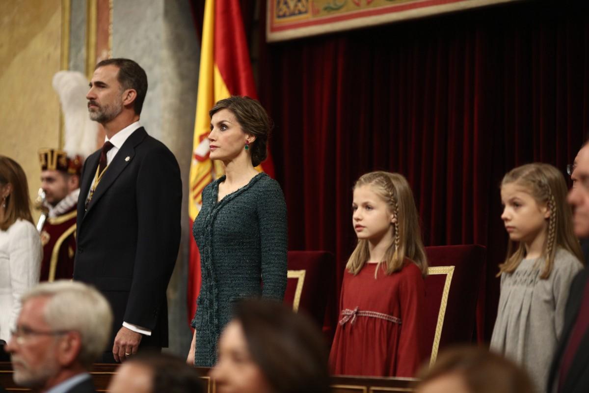 La família reial espanyola
