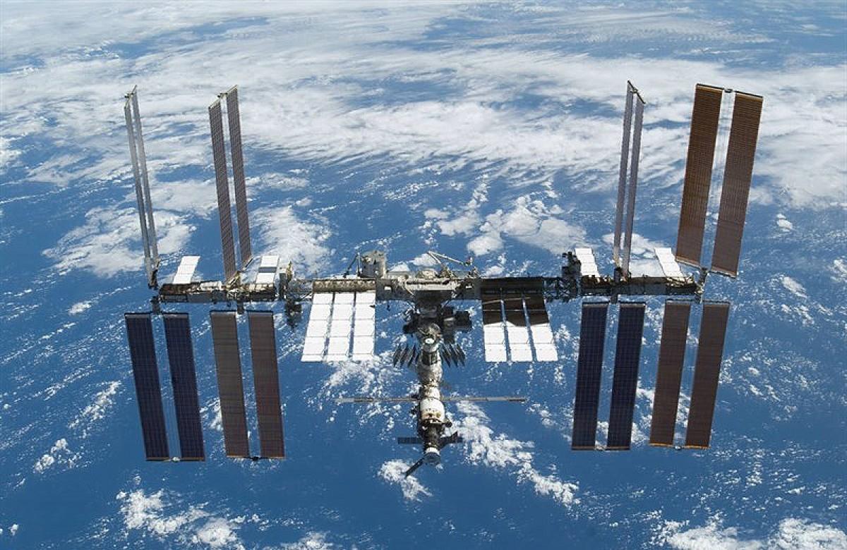 Imatge de l'Estació Espacial Internacional