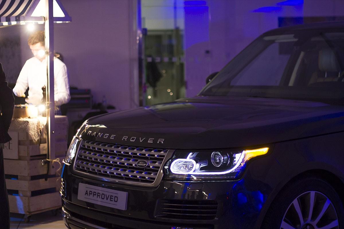 Inauguració de l'espai Jaguar Land Rover