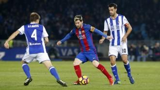 Continua la maledicció del Barça a Anoeta