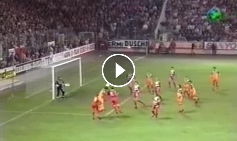 El gol a l'últim minut de Bakero a Kaiserslautern
