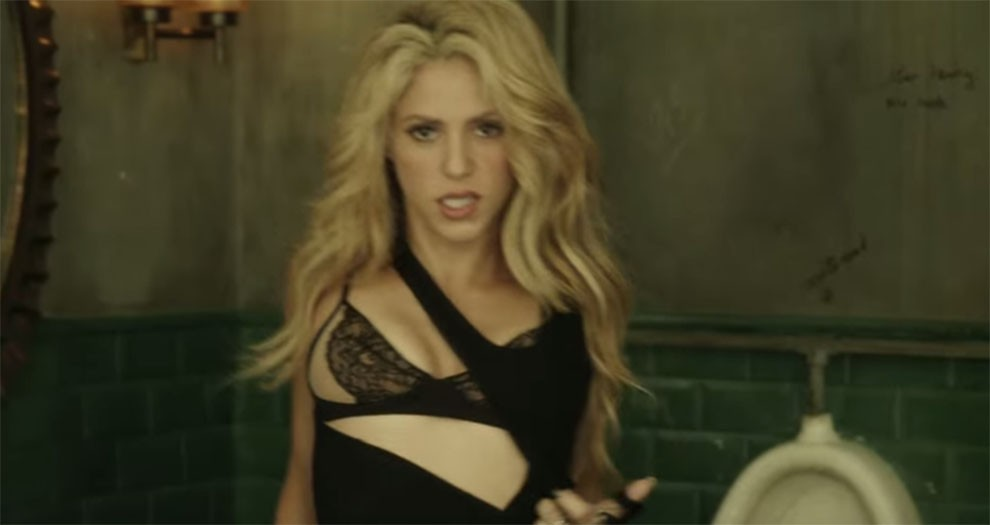 Shakira, en un videoclip