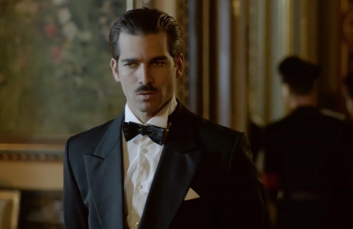 Rubén Cortada en el paper de Ramón Serrano Suñer en una imatge de la sèrie