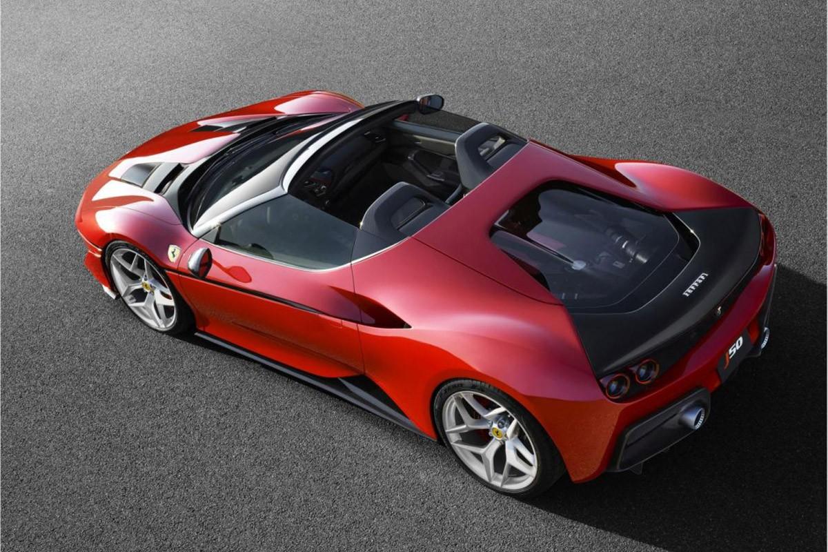 Ferrari J50,  una edició exclusiva de 10 unitats