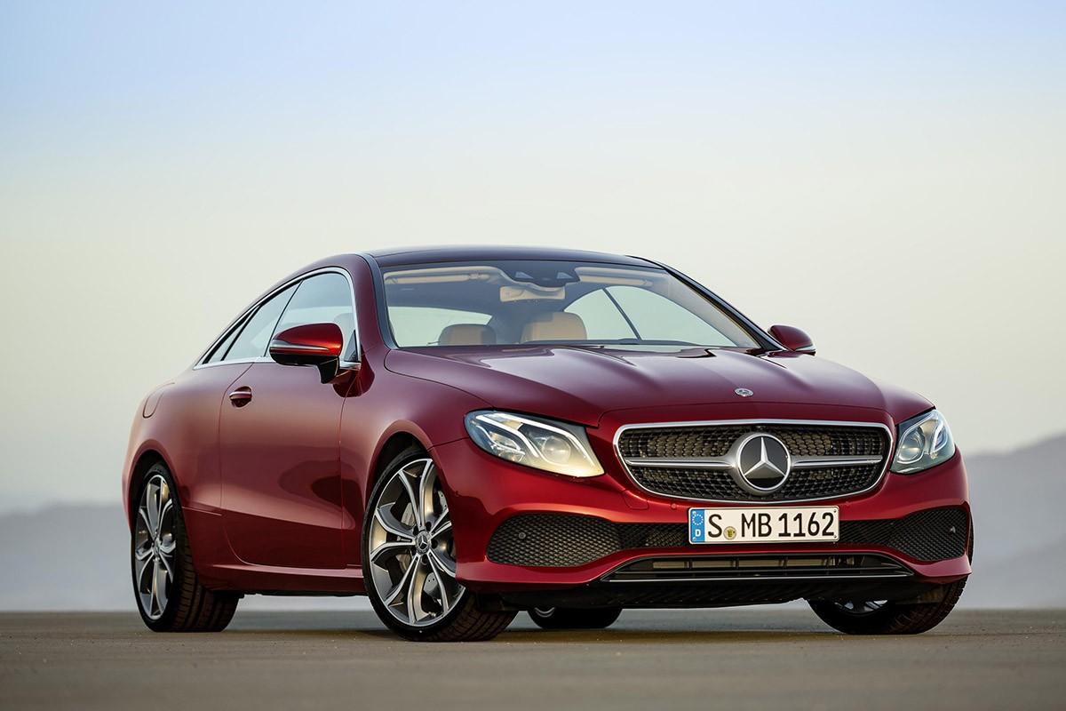 Mercedes-Benz presenta la versió cupè de la classe E