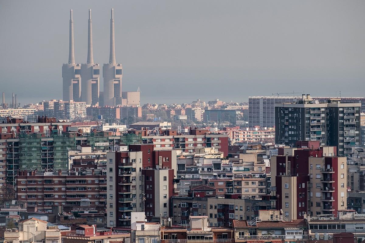 Vista de Barcelona des del Guinardó