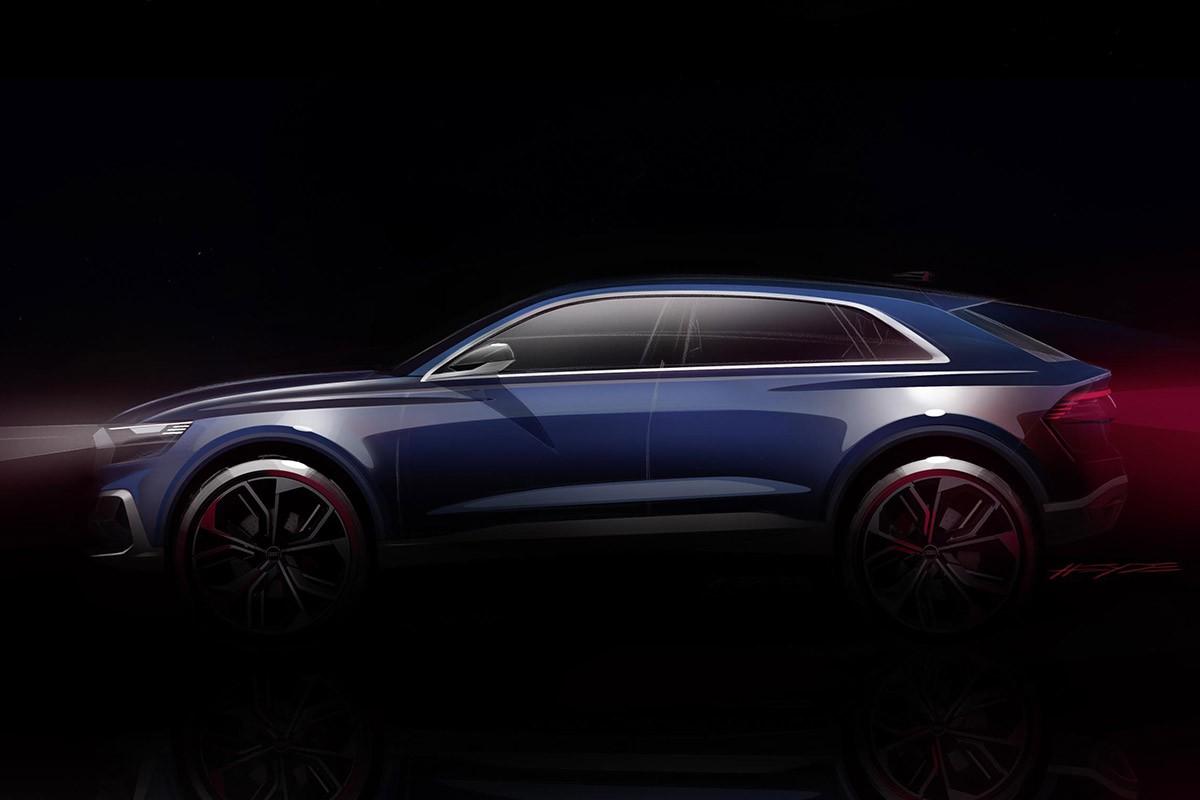 Audi presentarà al Saló de Detroit el seu nou SUV