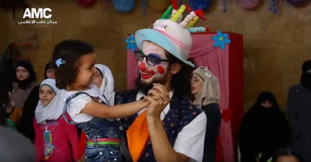 Anas al Basha, el pallasso d'Alep