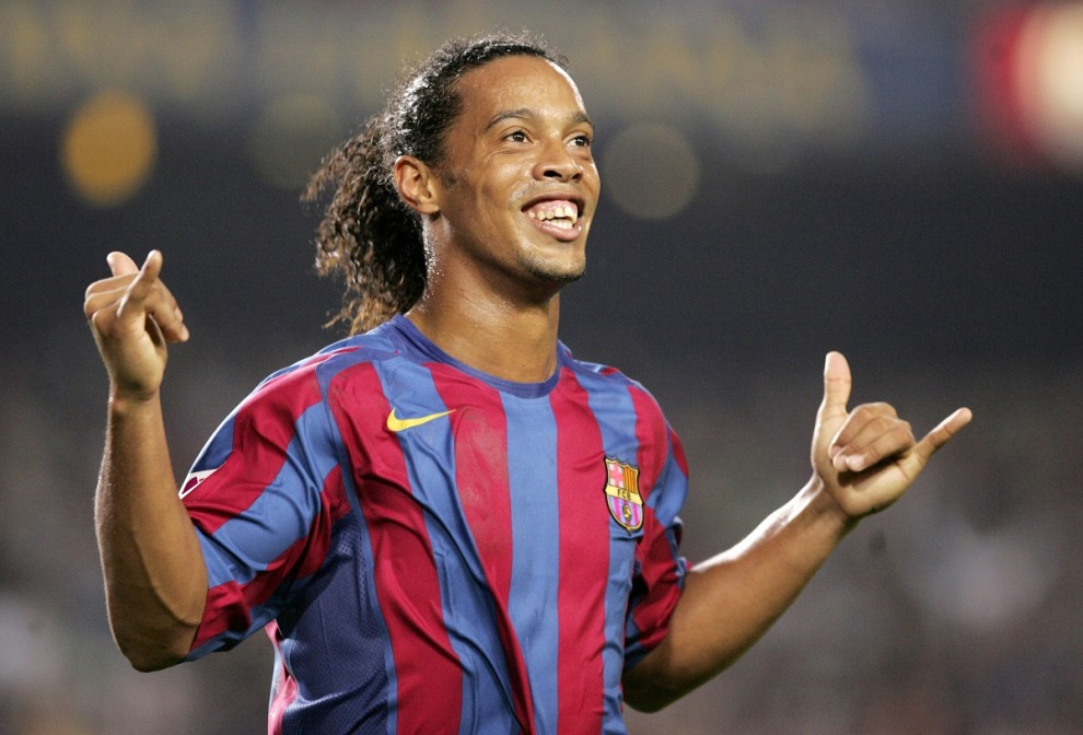 Ronaldinho, durant la seva etapa al FC Barcelona