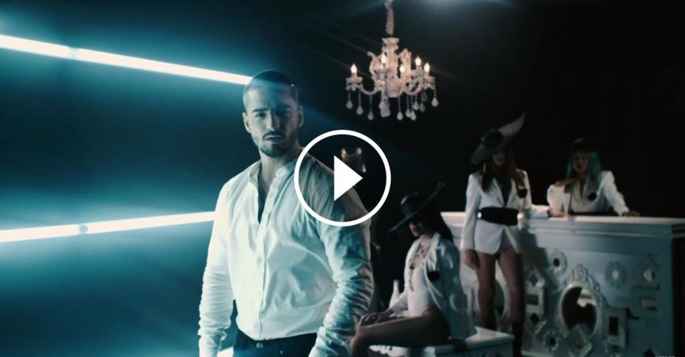 Maluma, en el seu vídeoclip