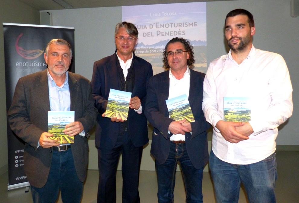Pere Regull, LLuís Tolosa, Francesc Olivella i Sergi Vallès