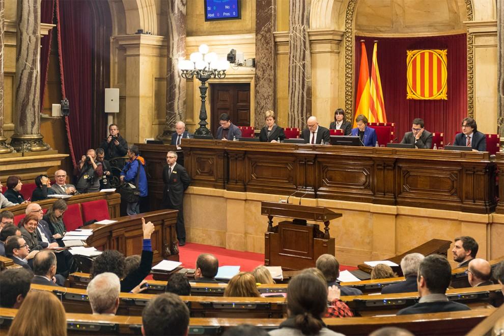 El Parlament de Catalunya