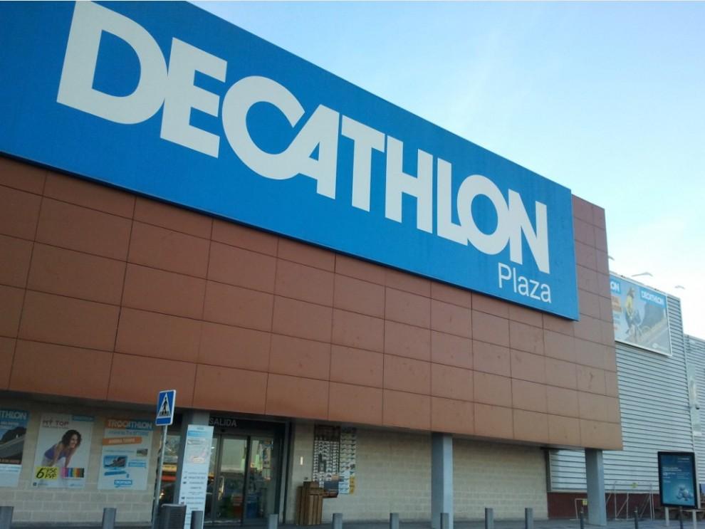 Imatge d'una botiga de Decathlon