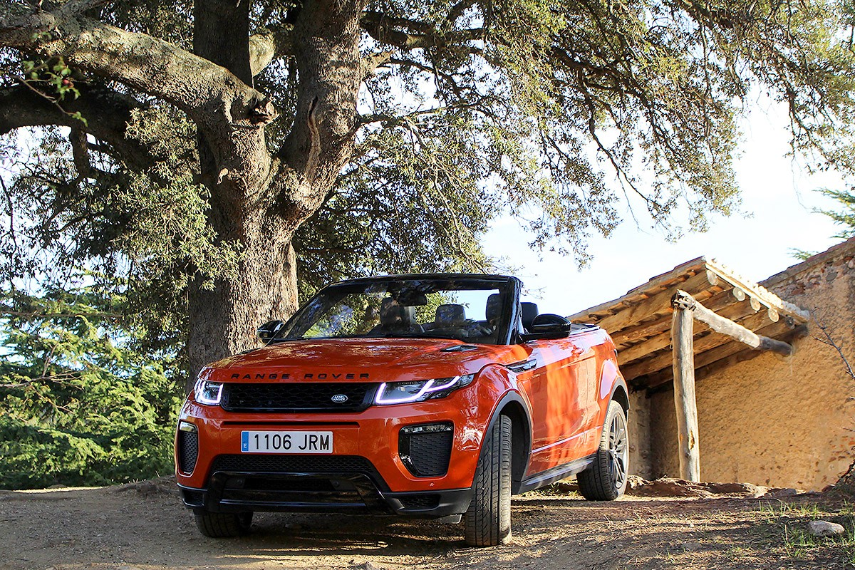L' Evoque Convertible aconsegueix aglutinar molts elements que acaben per funcionar junts de manera notable