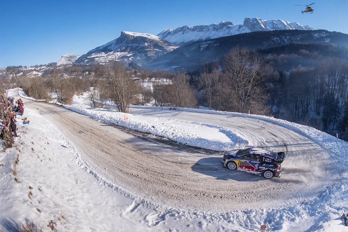 Sébastien Ogier al Monte-Carlo 2017